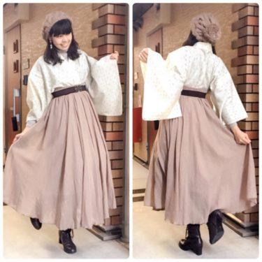 【着物×洋服】暑さも寒さもこれで解決!!和洋折衷コーデのすすめ