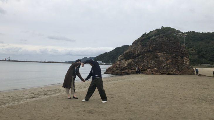 稲佐の浜デート写真